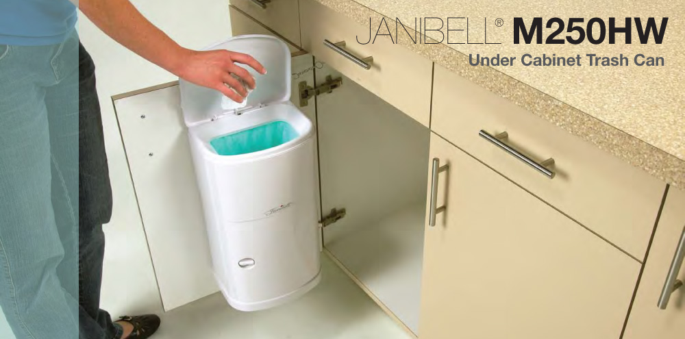 Superieur Janibell M250hw Under Cabinet Trash Can ...