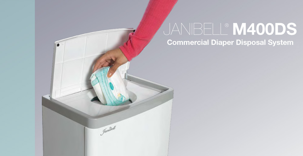 JANIBELL® M400DS Commercial Diaper Disposal System