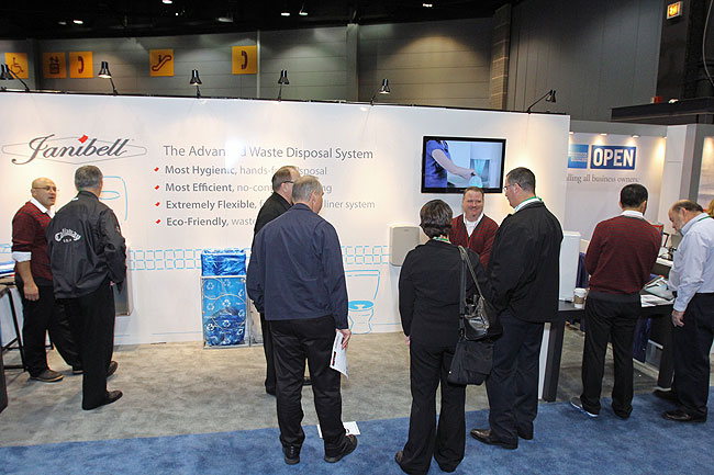 JANIBELL Booth at ISSA 2012
